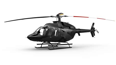 Helicopter Bell 407 Gxi presented in Las Vegas