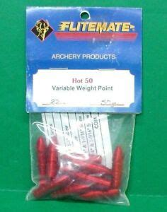 FliteMate Hot 50 Variable Weight Points for 2212 Aluminum