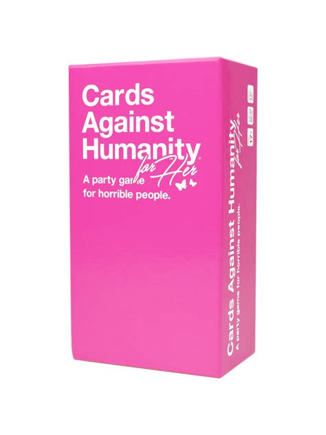 'Cards Against Humanity' releases a new version for women