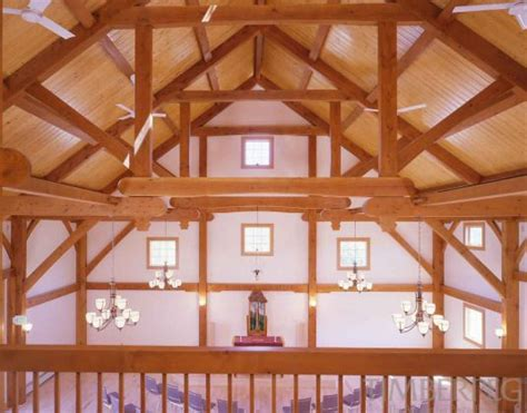 Queen Post Trusses - Modified   Timberpeg Post and Beam