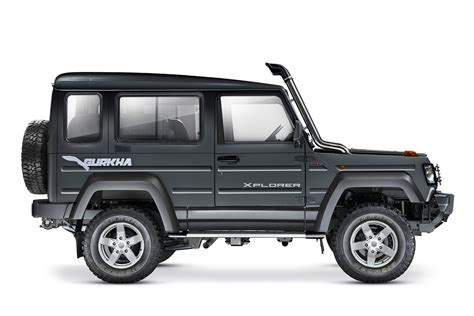 2017 Force Gurkha facelift range launched in India