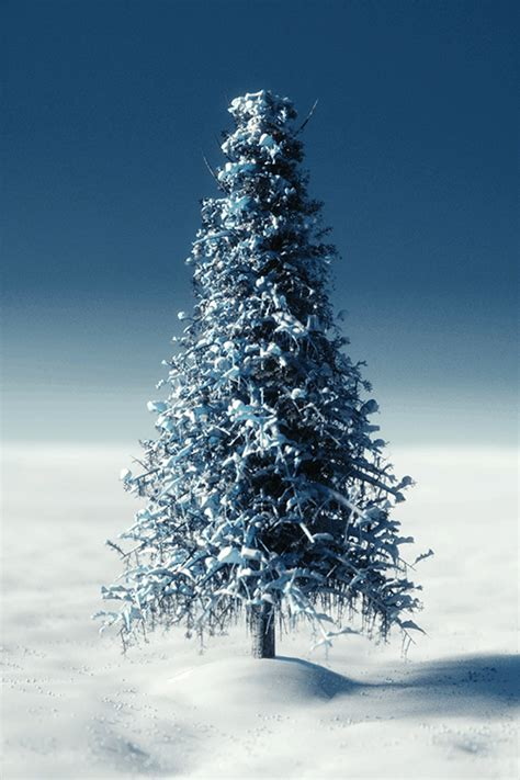 Create a High-Poly Snow-Covered Tree | CG Masters