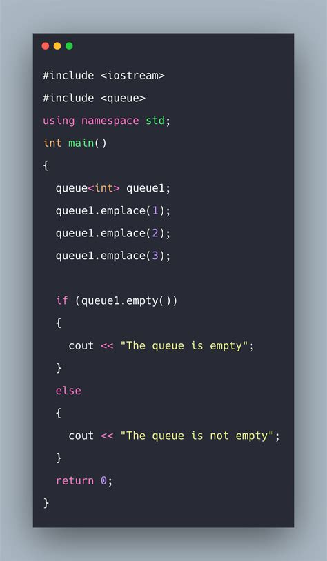 Queues in C++ Example   C++ Standard Template Library