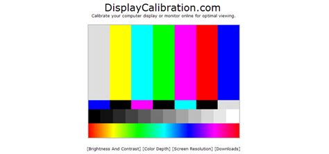 6 Free Online Tools To Help Calibrate Your Monitor