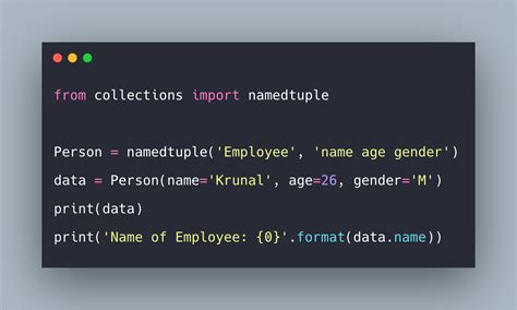 Python Collections Example   Python Collections Module