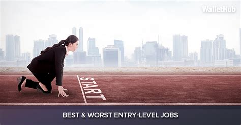 2017's Best & Worst Entry-Level Jobs   WalletHub®