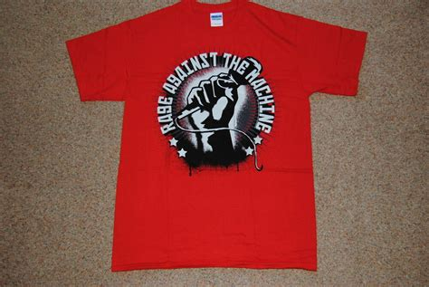 RAGE AGAINST THE MACHINE MIC CHECK T SHIRT NEW OFFICIAL