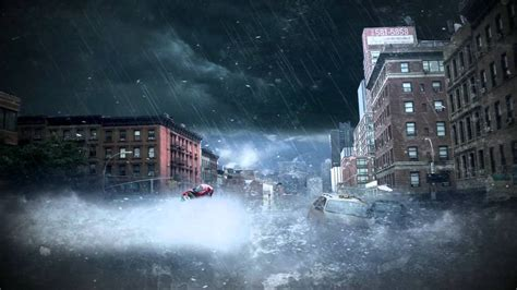 After effects tsunami testing - YouTube