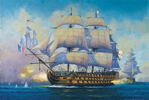 HMS Victory Admiral NelsonÂ's Flagship 1805 Battle of