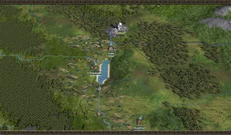 Map(final) image - Third Age - Total War mod for Medieval