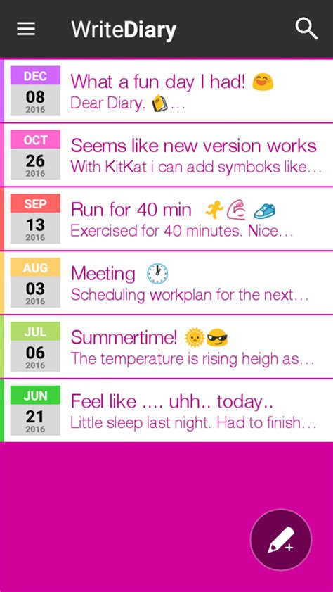 DIARY and JOURNAL — Private writing with FREE APP!