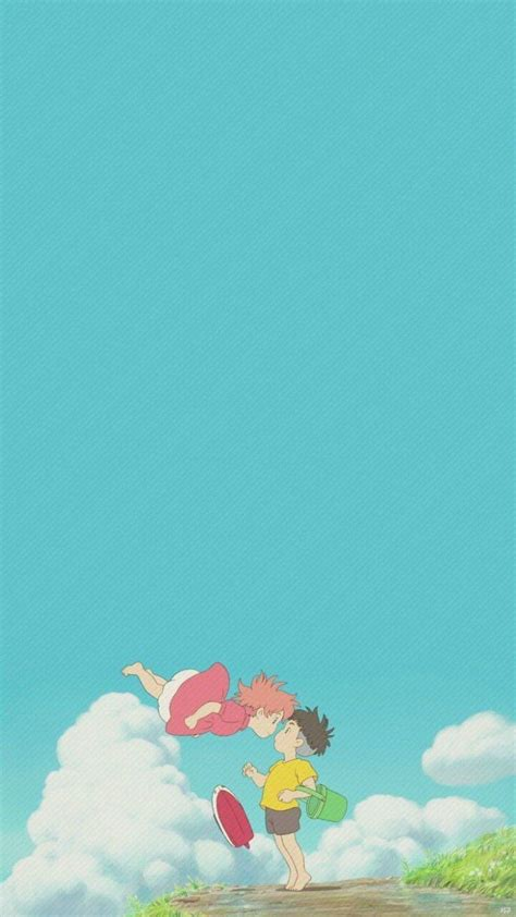 Ponyo On The Cliff Wallpapers - Wallpaper Cave