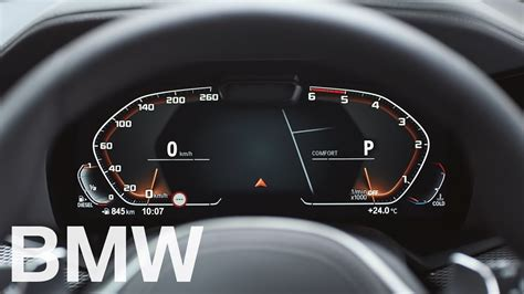 The new fully digital Instrument Cluster - Operating