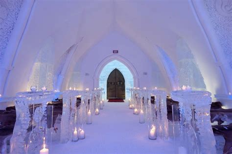 L'Hôtel de glace in Canada is the ultimate luxurious abode