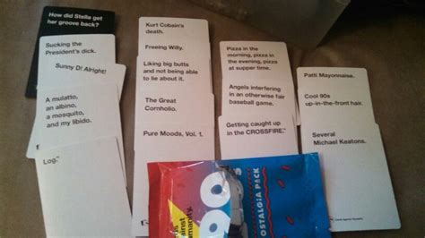 Cards against humanity 90s expansion pack part 2 | Cards