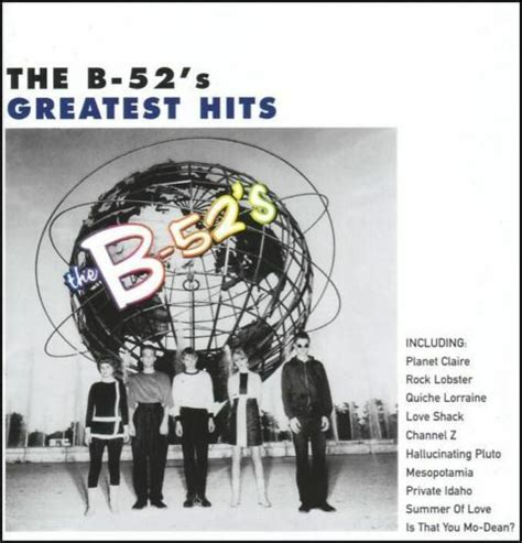 B-52's - GREATEST HITS : TIME CAPSULE CD ~ ROCK LOBSTER