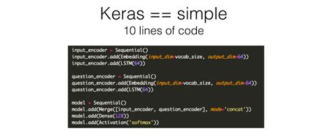 Deep Learning and Keras with François Chollet - Software