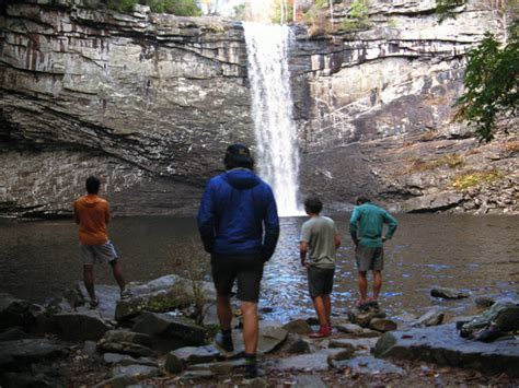 Foster Falls and Fiery Gizzard - Hiking