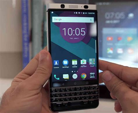 BlackBerry KeyOne launching in April with Android 7