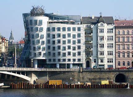 Dancing House Prague by Frank Gehry
