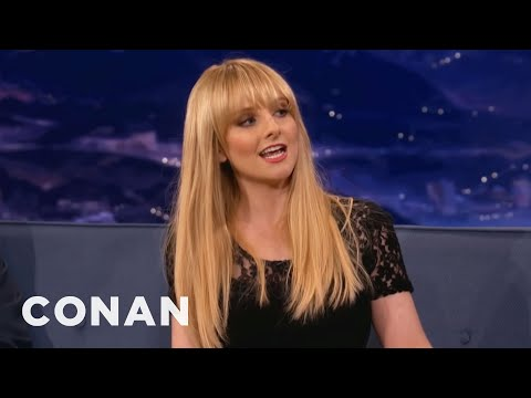 Kaley Cuoco and Melissa Rauch Feel Themselves Up at the