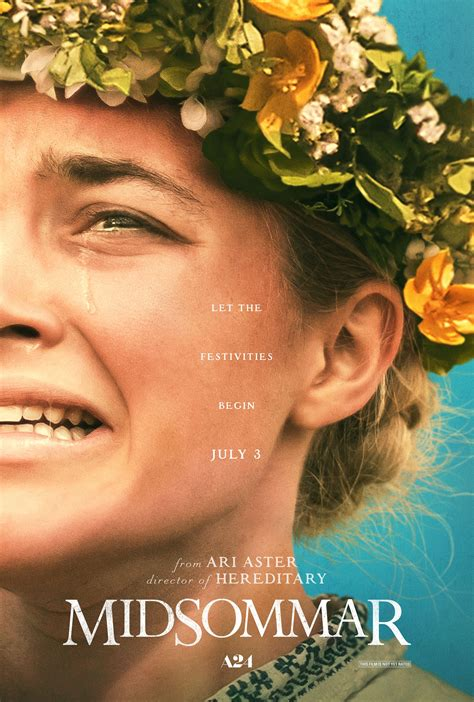 A24 Shares Unnerving New Midsommar Poster, Plot Synopsis