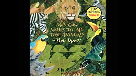 Bob Dylan - Man Gave Names to All The Animals (Mr