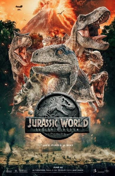 Jurassic World: Fallen Kingdom Poster Available with