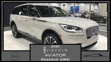 2020 Lincoln Aviator Reserve AWD|First Look|Walk Around