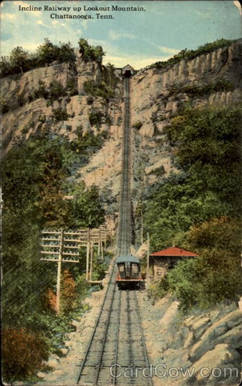 Incline Railway Up Lookout Mountain Chattanooga, TN