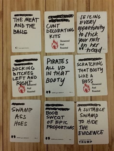 17 Best images about Cards of humanity ideas for blank