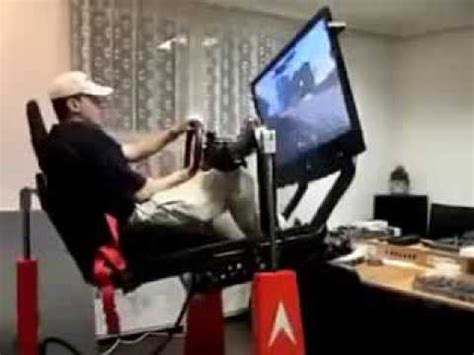 gaming chair with hydraulics - YouTube