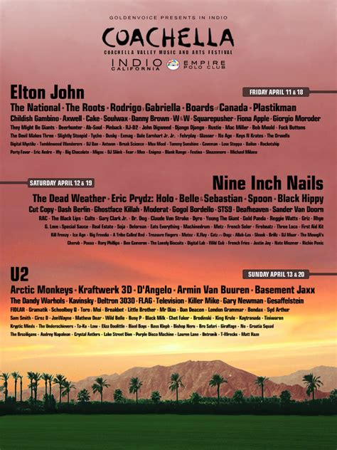 Let's guess Coachella's 2015 lineup + the first fake