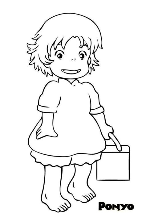 Totoro Coloring Pages - Coloring Home