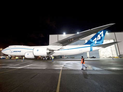 Boeing 747-8 Intercontinental Takes to the Skies