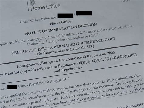 Czech UK residency rejection highlights foreigners' fears