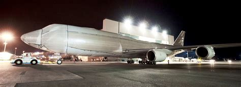The Boeing 747-8 Intercontinental Gets All Wrapped Up
