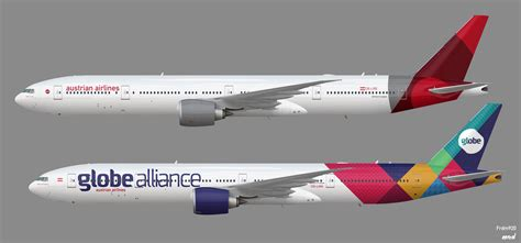Boeing 777-300ERs austrian airlines - Frdm's Liveries and