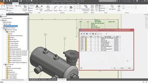 Quick Tip - Creating Parts Lists | Inventor Official Blog